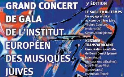 Le Sablier du Temps – Concert de Gala IEMJ pour la sortie du disque